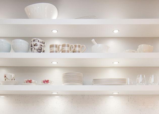 Puustellin verkkokaupan myydyimmät keittiö- ja kylpyhuonevalaisimet